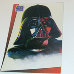 Star Wars Galaxy 1993 Topps #4 Darth Vader Trading card